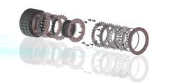 Formula 1 Multiplate Clutch
