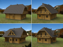 Wooden House 9,5 x 7,5