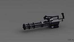 M134 Vulcano Minigun