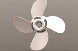 4 bladed propeller
