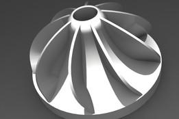 9 blade impeller model