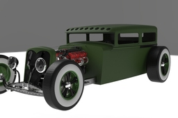 Hot Rod Ford Sedan 1930
