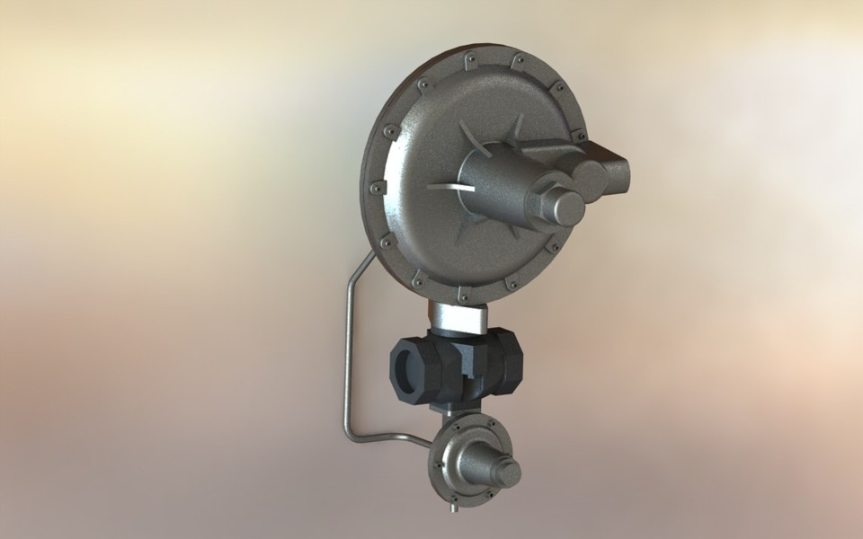 Gas Pressure Regulator EQA manufacturing Ø 2