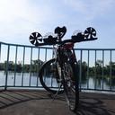 Bicycle Bubble machine-design