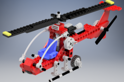 8429 Lego Helicopter and Plane