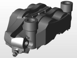 Tokico brake caliper