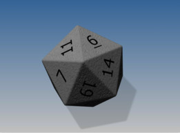 20 Sided Die