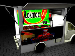 LOKMA DISTRIBUTION TRUCK