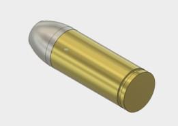 Gravity Dice 357 Bullet Case