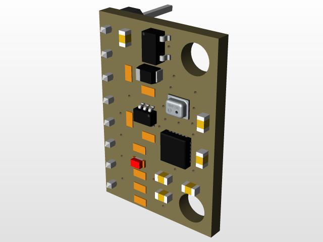 GY-91 ( MPU9250 + BMP280 )   3D CAD Model Library   GrabCAD