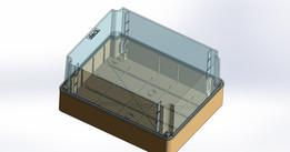 Steck box 390x310x187 passage REF ST.44.440-N5