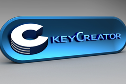 KeyCreator desk plaque