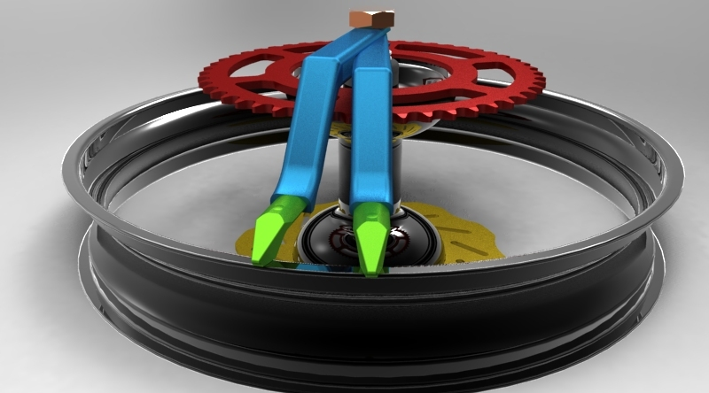 Dirtbike Tire Changing Tool 3d Cad Model Library Grabcad
