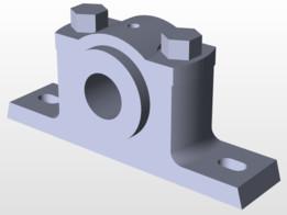 SIMPLE MODEL OF PLUMBER BLOCK