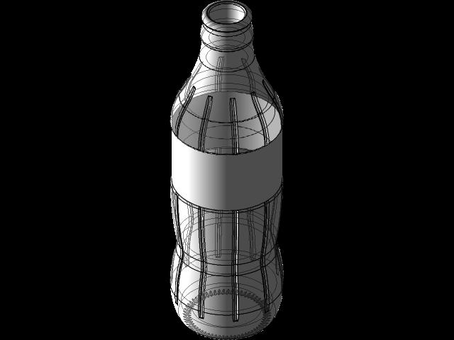 Coca Cola 225 Ml Glass Bottle 3d Cad Model Library Grabcad