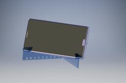 Foldable support Ruler