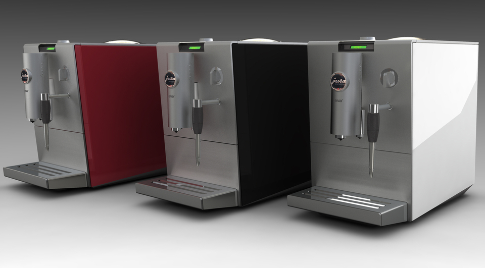 jura capresso ena5 coffee machine step igesrhino 3d cad model grabcad - Jura Coffee Maker