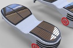 Antigravity motion shoe