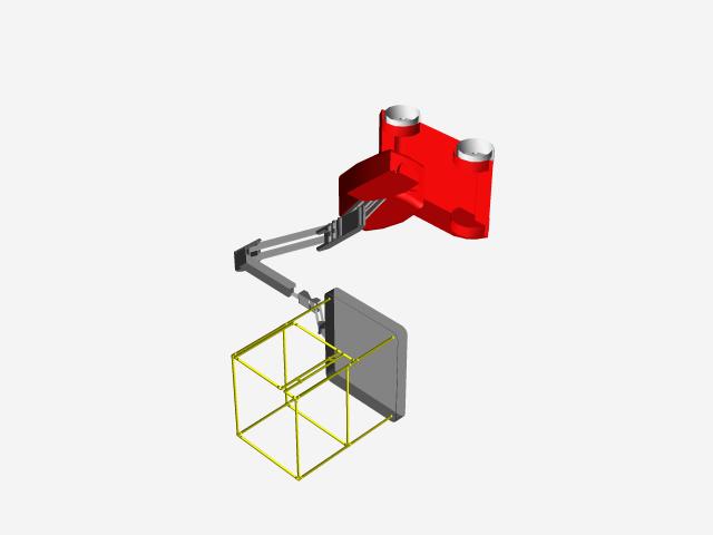 Boom Lift | 3D CAD Model Library | GrabCAD
