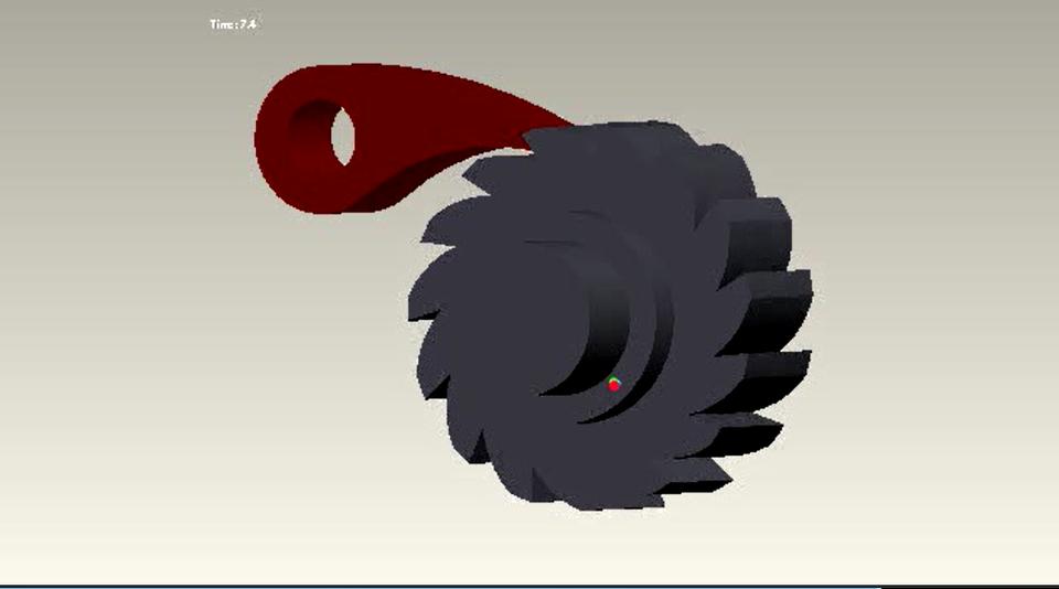 Ratchet and pawl - 3D CAD model - GrabCAD