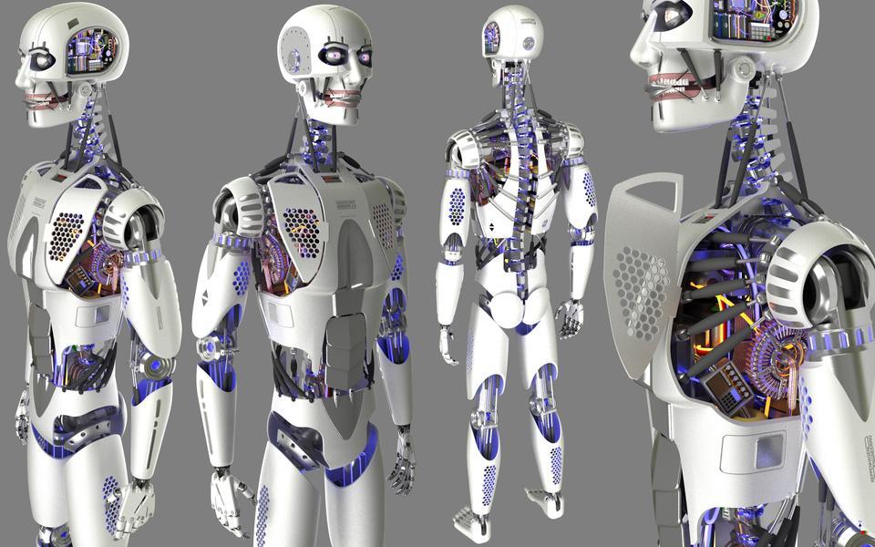 autodesk inventor, human - recent models - grabcad - cad library, Skeleton