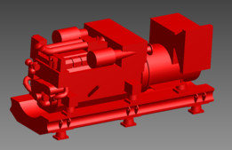 MTU 12 V 2000 M51A 498 KW @ 1500rpm diesel marine engine