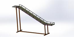 Slider for loading truck
