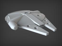 Millennium Falcon Master Model ANH Version