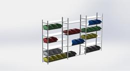 Mounting shelf / Montageregal..