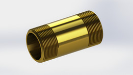 Brass Fitting Pipe