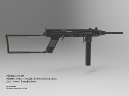 Madsen M.50 Danish Submachine Gun Cal. 9mm Parabellum