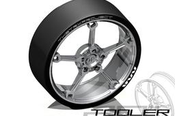 Tooler wheel rim.