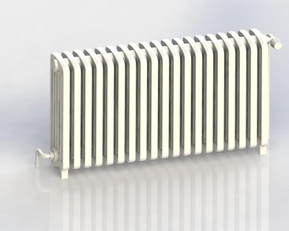 Radiateur fonte 1 stl step iges solidworks 3d cad model grabcad - Poncer radiateur fonte ...