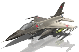 F-16 Jet after Dan Lavoie tutorial