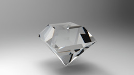 Table Cut Diamond