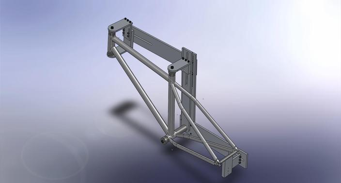 Bicycle frame welding jig (now with more free frame models!)