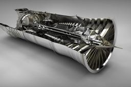 Low Bypass Turbofan (Pratt & Whitney F100)