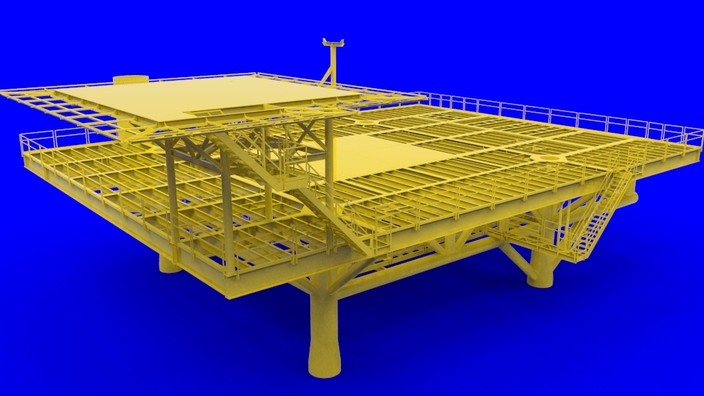 Pics photos drilling rig other 3d cad model grabcad
