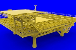 oil platform work deck