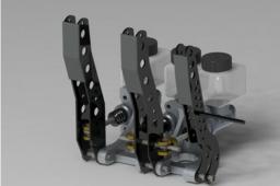 Tilton racing pedal assembly