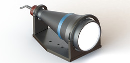 Telecentric HP illuminator, beam diameter 100 mm