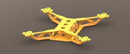 Quadcopter Frame Rev 2