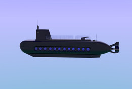 Passenger submarine
