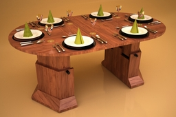 Kameleon coffee table/dinner table