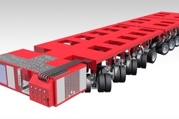 Multi Axle Hydraulic Vehicle