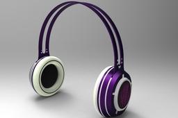 led headphones concept