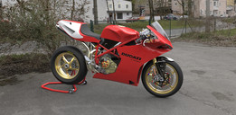 Ducati 916 seat unit based on Kim Kronslev 996 seat