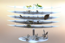 Display, Stainless Steel Shelving Unit...For The Bugs