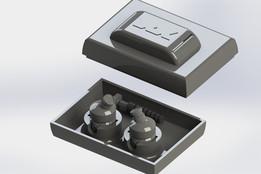 JVC Xplosives Headphones Case
