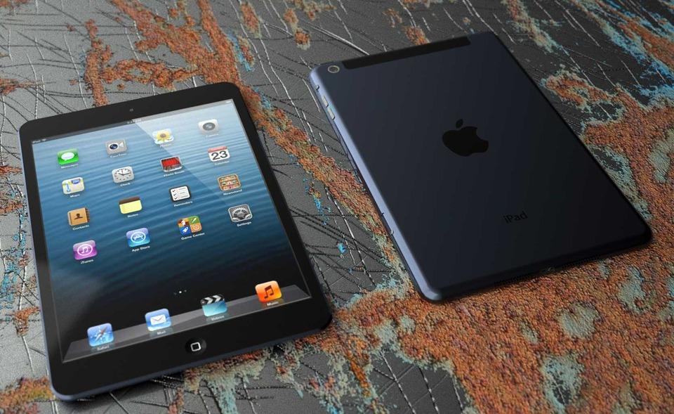 Rørig new iPad Mini - WiFi + Cellular   3D CAD Model Library   GrabCAD AP-67